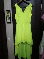 Отдается в дар платье лимонное р.42