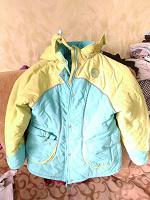 Отдается в дар Куртка 140 зима