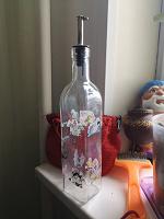 Отдается в дар Бутылка для масла