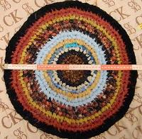 Отдается в дар коврик круглый