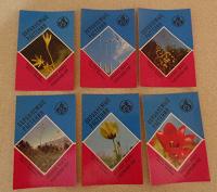Отдается в дар Календарики. Охраняемые растения Узбекистана