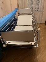 Отдается в дар Кровать для лежачих больных металлическая