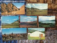 Отдается в дар Открытки Монголия