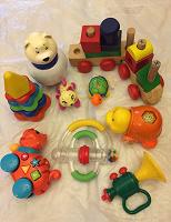Отдается в дар Игрушки малышам