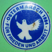 Отдается в дар Значок «OSTERMARSCH 1984» DDR