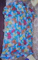 Отдается в дар Платье домашнее в цветочек