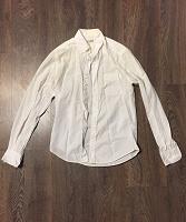 Отдается в дар Белая мужская рубашка.
