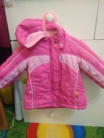 Отдается в дар Тёплая курточка на девочку р.86