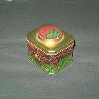Отдается в дар Коробка из-под чая «Брызги шампанского»
