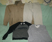 Отдается в дар одежда мужская 48-50