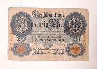 Отдается в дар Германия 20 марок 1914г.