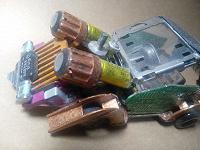 Отдается в дар Машинка из электронного скрапа, ночник