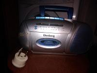 Отдается в дар Elenberg -кассетная магнитола с радио