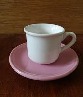 Отдается в дар Чашка с блюдцем —кофеманам…