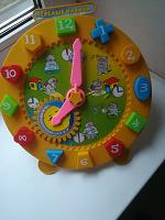 Отдается в дар Развивающая игрушка Часы