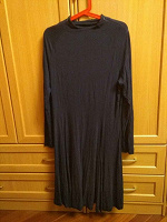 Отдается в дар Платье темно-синее трикотаж 48-50
