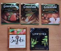 Отдается в дар Чайное ассорти в пакетиках (черный чай, 5 видов)