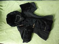 Отдается в дар Куртка/полупальто с кроличьим мехом, р. 42