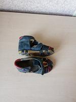 Отдается в дар Ортопедические кожанные сандали, р21
