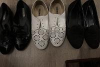Отдается в дар Женская обувь на осень