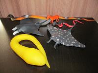 Отдается в дар Игрушки подводный мир, пресмыкающиеся