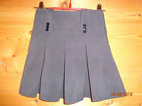 Отдается в дар Школьная юбка.