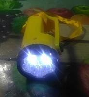 Отдается в дар Фонарик светодиодный на батарейках
