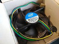 Отдается в дар Система охлаждения ЦП Intel