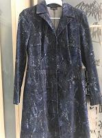 Отдается в дар Джинсовое дизайнерское пальто — именно то! (: