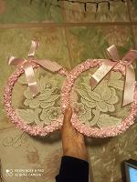 Отдается в дар Кольца для интерьера или оформления свадьбы, декор