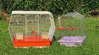 Отдается в дар Две клетки для попугаев