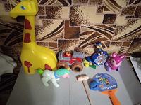 Отдается в дар игрушки детям