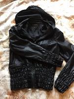 Отдается в дар Куртка женская кожзам 44-46 размер