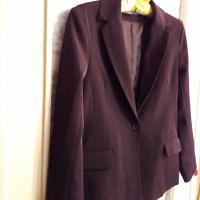 Отдается в дар Пиджак 42-44 размер шоколадного цвета