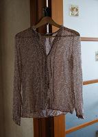 Отдается в дар Прозрачная блуза Zara Woman