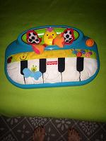 Отдается в дар Музыкальное пианино малышу Fisher Price