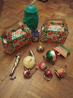 Отдается в дар Елочные игрушки (Привет из СССР)