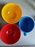 Отдается в дар 2 плошки и чашка