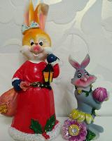 Отдается в дар Фигурки зайцев