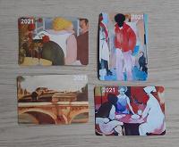 Отдается в дар Календарики 2021г в коллекцию
