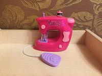 Отдается в дар Игрушечная швейная машинка