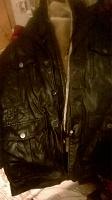 Отдается в дар Куртка мужская кожанная