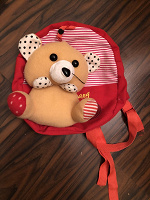 Отдается в дар Детский рюкзачок с игрушкой