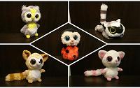 Отдается в дар Мягкие игрушки «Глазастики»
