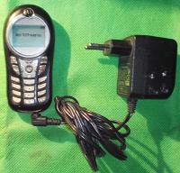 Отдается в дар Кнопочный вынтажЪ (28) Сотовый телефон «Motorola C115» б/у