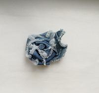 Отдается в дар Джинсовый цветок