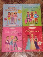 Отдается в дар Для девочек — 4 книги моды со стикерами