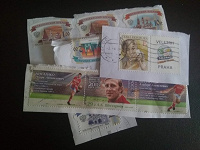 Отдается в дар Марки с конвертов