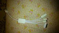 Отдается в дар Интерфейсный кабель USB — читалка micro-SD