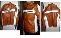 Отдается в дар Кожаная куртка из Боливии 40-42